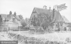 Longwick, School And School House c.1955