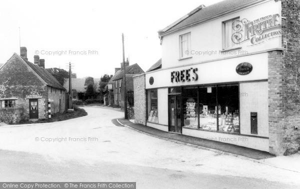 Longworth, Tucks Lane c1965