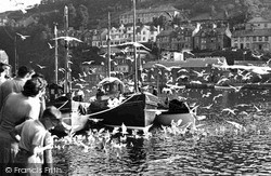 Arrival Of Fishing Fleet c.1955, Looe