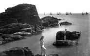 Looe, Diving Rock 1920
