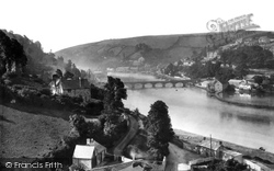 From Above Railway Station 1893, Looe