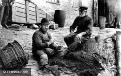 Mending Nets 1906, Looe