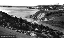Millendreath And Looe Island c.1955, Looe