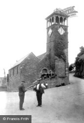 St Nicholas Church 1906, Looe
