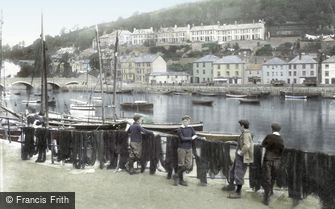 Looe, the Harbour 1906