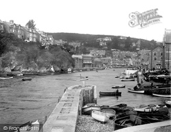 The Harbour And Little Pier 1935, Looe