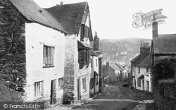 West Looe Hill, Oldest House 1888, Looe