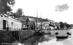 West Looe Jetty 1893, Looe