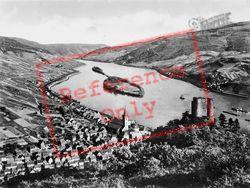 Nollich And Island c.1930, Lorch Am Rhein