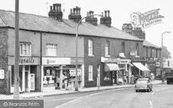 Lostock Hall, Shops On Leyland Road c.1965