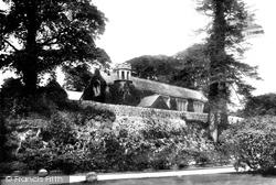 Lostwithiel, Boconnoc Church 1898