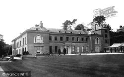 Lostwithiel, Boconnoc House 1898