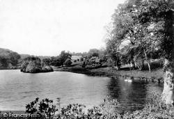 Lostwithiel, Boconnoc House And Lake 1898