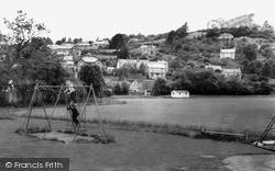 Lostwithiel, Children's Playground c.1960