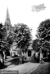 Lostwithiel, Church Avenue 1893