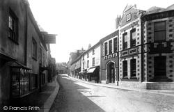 Lostwithiel, Fore Street 1891