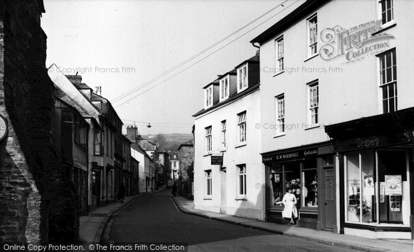 Photo of Lostwithiel, Fore Street c.1955