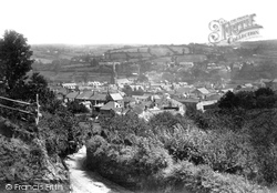 Lostwithiel, From St Austell Road 1893