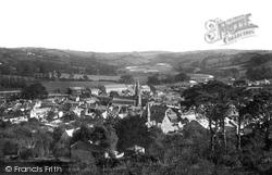 Lostwithiel, From Terrace Hill 1891