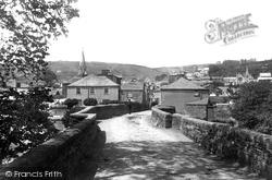 Lostwithiel, From The Bridge 1891
