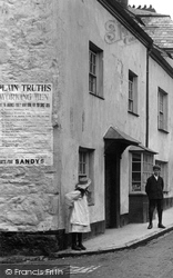 Lostwithiel, House In Fore Street 1906
