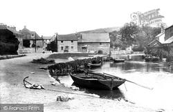 Lostwithiel, On The River Fowey 1891