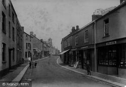 Lostwithiel, Queen Street 1906