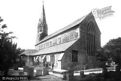 Lostwithiel, St Bartholomew's Church 1891