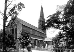 Lostwithiel, St Bartholomew's Church From The North East 1893