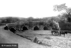Lostwithiel, The Bridge 1891