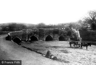 Lostwithiel, the Bridge 1892