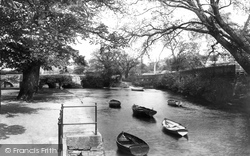 Lostwithiel, The River Fowey And Parade 1898