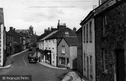 Lostwithiel, The Town From St Austell Hill c.1955