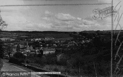 Lostwithiel, View From West c.1955