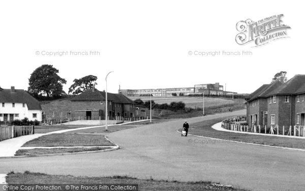 Loughborough, Alan Moss Road c1955