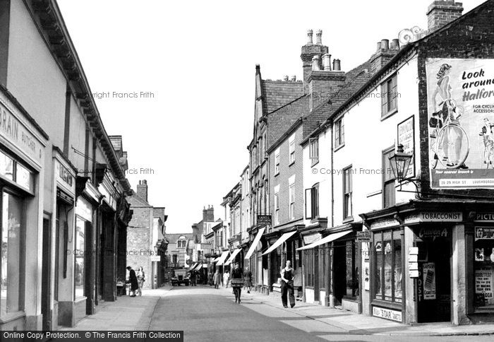 Loughborough, Church Gate c1955