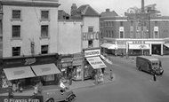 Loughborough, High Street c1950