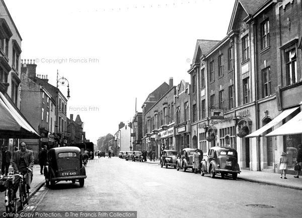 Loughborough, High Street c1955