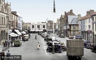 Loughborough, Market Place c1950