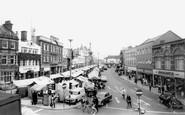 Loughborough, Market Place c1965