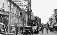 Loughborough, Market Street 1949