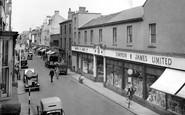 Loughborough, Market Street c1955