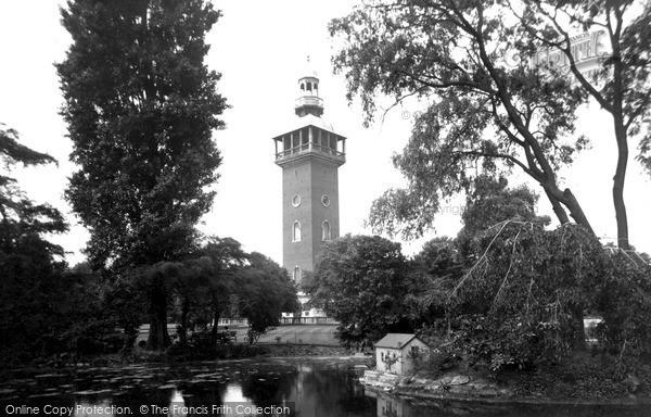 Loughborough, Queens Park c1950