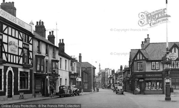 Loughborough, Wards End 1954