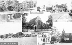 Loughton, Composite c.1955