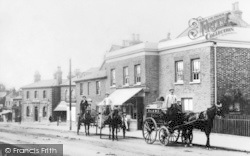 Loughton, High Road 1901