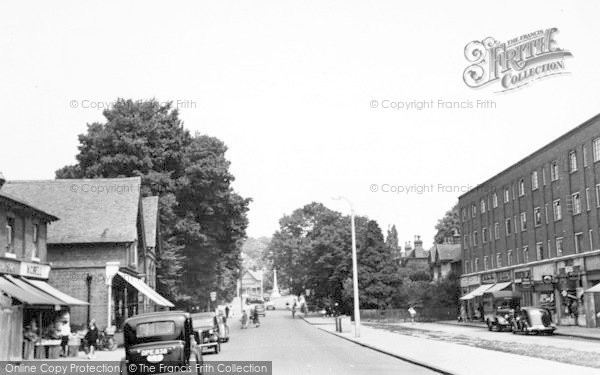 Photo of Loughton, High Road c.1950