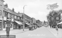 Loughton, High Road c.1950