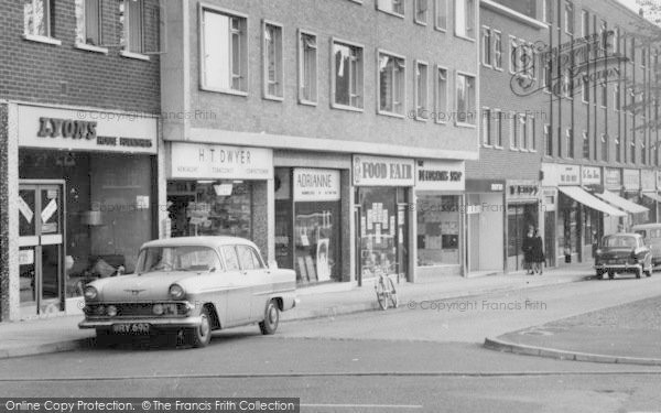 Photo Of Loughton High Road Shops C 1960 Francis Frith