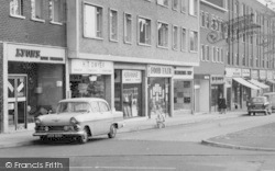 Loughton, High Road Shops c.1960